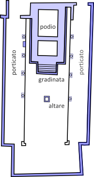 plan of temple A
