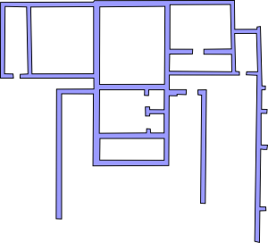 plan of temple B
